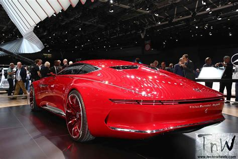 paris motor show vision mercedes maybach  luxury class