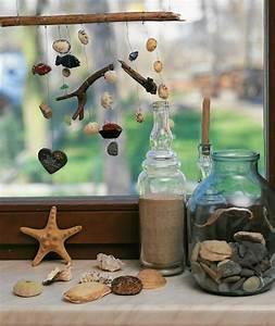 Hängende Deko Fürs Fenster : deko mit muscheln f r eine frische ausstattung ~ Markanthonyermac.com Haus und Dekorationen