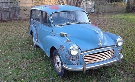 major minor  morris minor traveller