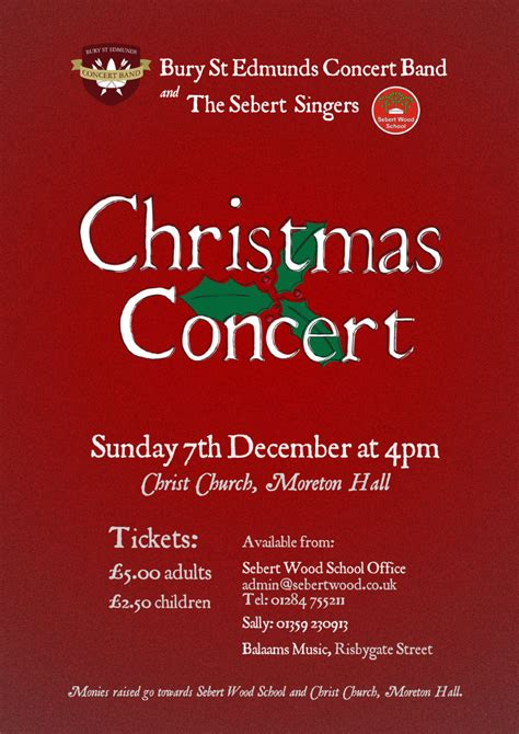 christmas concert poster festival collections