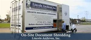 lincoln archives document shredding buffalo ny With on site document shredding services