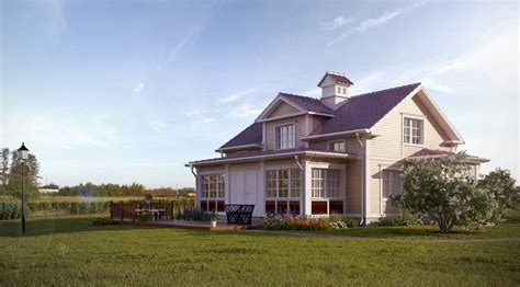Country House : Professional 3d Architectural Visualization