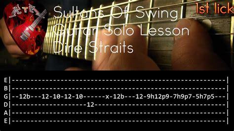 dire straits sultans of swing lesson sultans of swing guitar lesson dire straits with