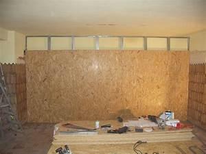 Doubler Un Mur En Placo Sur Rail : mise en place cloison de murs notre nouvelle maison le ch teau ~ Dode.kayakingforconservation.com Idées de Décoration