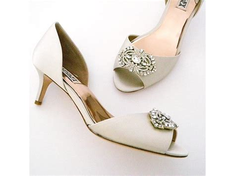 Used Badgley Mischka Shoes, $100  Bridal Accessories