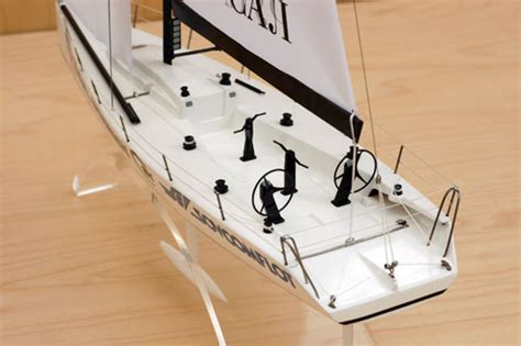 admiral company scale model  racing yacht transpac