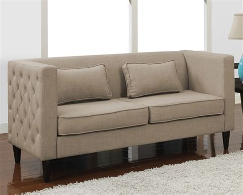 Tufted Sofa And Loveseat Set by Dune Side Tufted Sofa And Rectangular Pillows Set