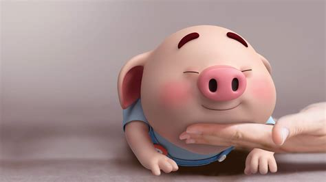 Cute Pig Wallpaper Desktop Surface 25 1920x1080