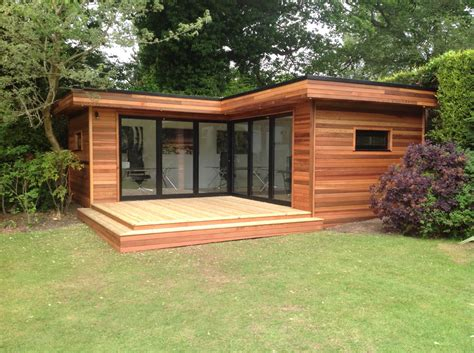 Garden Room With Living Roof by Contemporary Garden Rooms