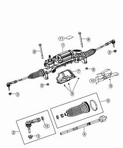 Jeep Cherokee Tie Rod End  Inner   Firm Suspension