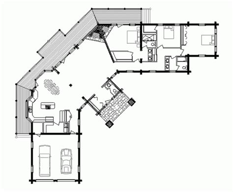 luxury cabin floor plans artistic luxury log home floor plans and designs with two