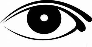 Logo auge schwarz