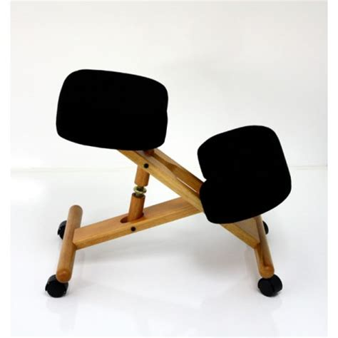 siege pour assis siege assis genoux bois naturel ou laqué noir