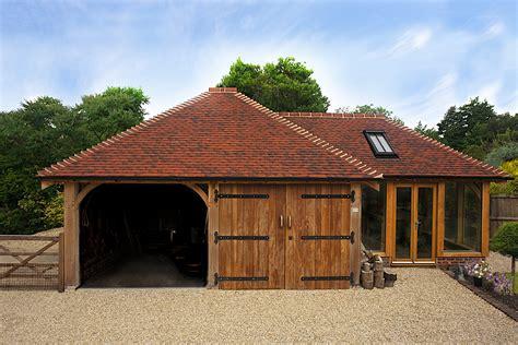barns and buildings two bay cart barns brookwood oak barns