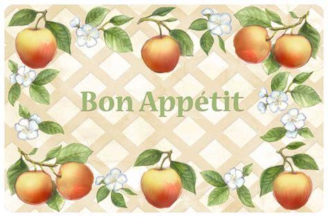Bon Appetit Kitchen Mat in Floor Mats