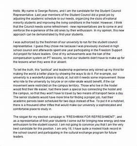 Student Council Essay Ideas Prompts For A Persuasive Paragraph