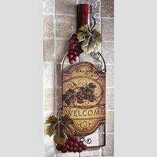 Wine Grapes Kitchen Decor  Ebay