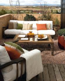 lounge sofa balkon stylish balcony decor ideas