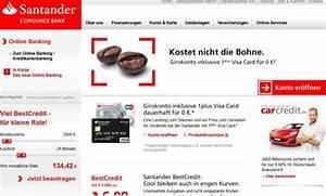Santander Bank Kredit Erfahrungen : santander consumer bank tagesgeld erfahrungen 2018 zum test ~ Jslefanu.com Haus und Dekorationen