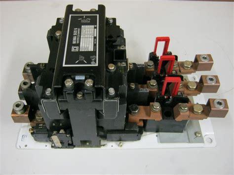 square d size 5 motor starter class 8536 type sgo 1 form s 600 vac 120 volt coil ebay