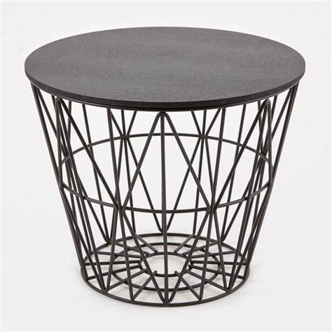 Wire Basket Ferm Living by Ferm Living Wire Basket Black Medium