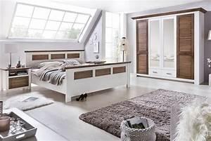 Schlafzimmer Set Modern : schlafzimmer landhausstil laguna kiefer teilmassiv p02 ~ Markanthonyermac.com Haus und Dekorationen