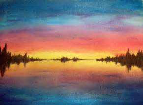 Easy Watercolor Sunset Paintings
