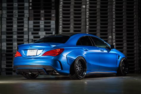 Choose the color, wheels, interior, accessories and more. Not a fairy, but a beast - Mercedes-Benz CLA by Fairy ...