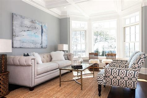 periwinkle blue paint living room victorian with light