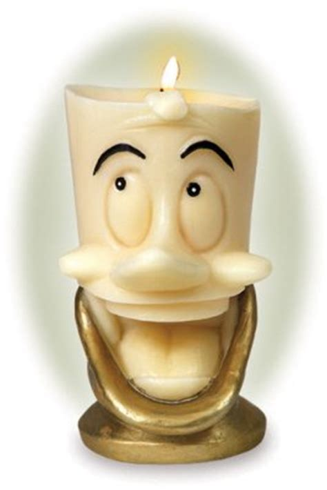 lumiere candle   walt disney classics collection