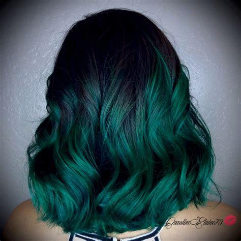 Pin By Shae On Hair Hair Green Hair Emerald Hair