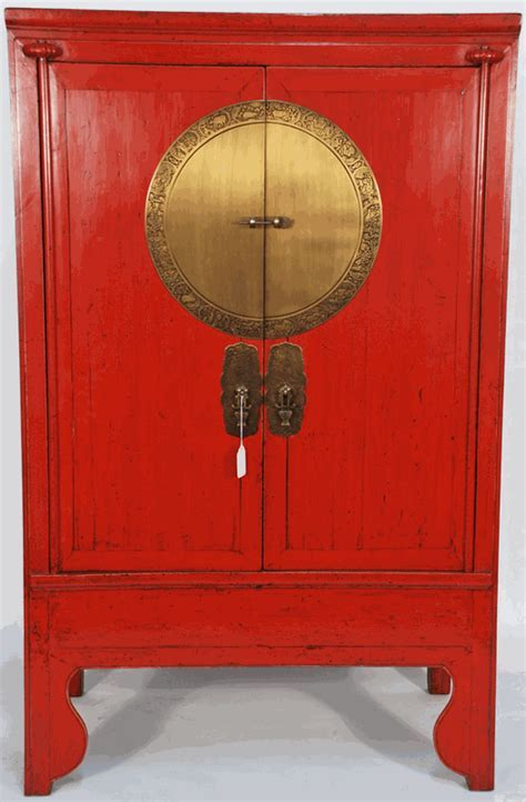 Antique Asian Furniture: Chinese Antique Wedding Cabinet
