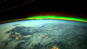 Surreal video of the aurora borealis created from image ...