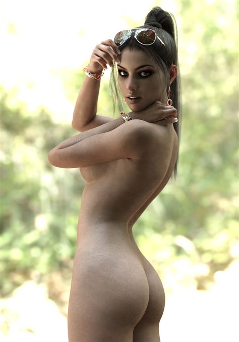 Rebeca Naked In Forest By Bestmanpi On Deviantart