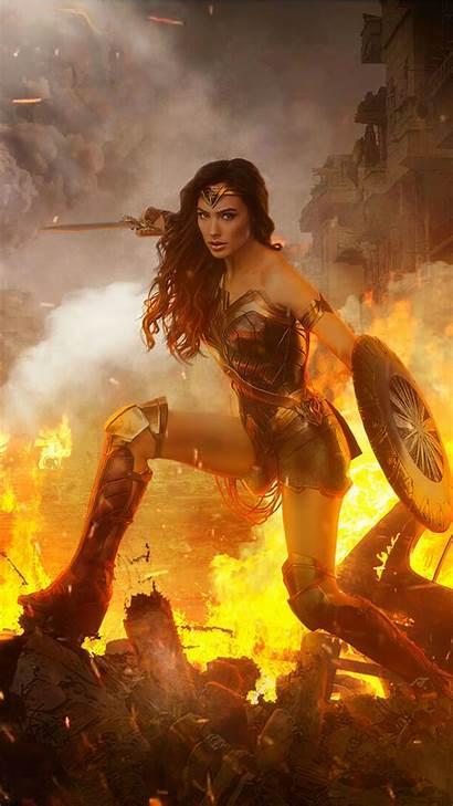 4k Wonder Woman Wallpapers Maravilha Iphone Resolution