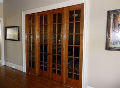 Black, White Or Stained French Doors