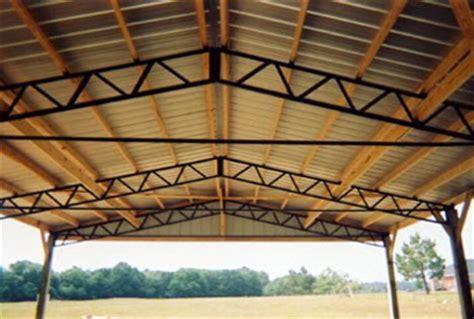 steel trusses trusswalk truss  metal roofing company