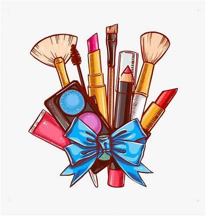 Cartoon Makeup Brush Lipstick Brushes Cosmetics Transparent