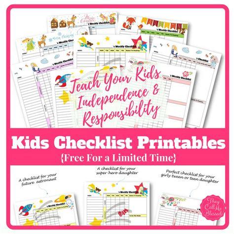 Homeschool Checklist Template by Best 25 Checklist Template Ideas On