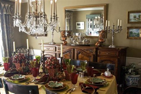 beautiful dining room table centerpieces stroovi