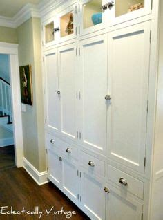 kitchen pantry wall cabinet source 3 entry to bathroom features built in linen 5498