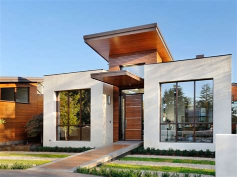 Best Modern House Design Small Modern House Exterior
