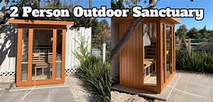 the best outdoor infrared sauna 2020 weatherproof
