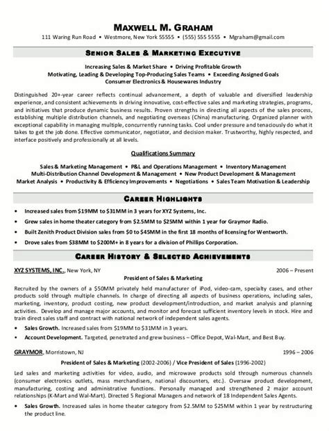 Executive Resume Sles Free by Pin By Resume On Resume Sles Resume