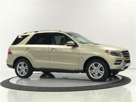 That figure is based on the fact that the new while the rest of the world is running to the crossover craze, the ml350 bluetec 4matic proves that there's still plenty of life left in the suv game. 2012 Mercedes-Benz M-Class ML 350 AWD 4MATIC 4dr SUV Stock # for sale near Pompano Beach, FL ...