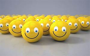 Wallpaper Smilies, Yellow, 3D, HD, 4K, Creative Graphics ...  Happy
