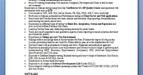 Resume Creation Using Html by How To Start A Software Engineer Resume In Word Format