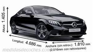 Dimension Classe A 2017 : medidas y dimensiones de coches de todas las marcas ~ Medecine-chirurgie-esthetiques.com Avis de Voitures