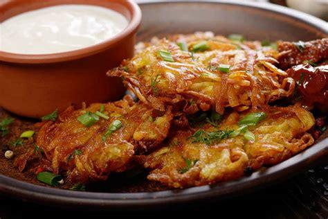 Kartupeļu pankūkas ar burkāniem | Receptes
