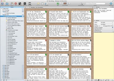 Writing with Scrivener – Pros and Cons | Writers Anon ...